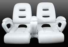Miami Double Wide Helm Seat(40-1045DW)