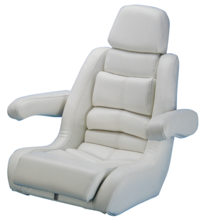 Todd Boat Seats 5 Star Seat White